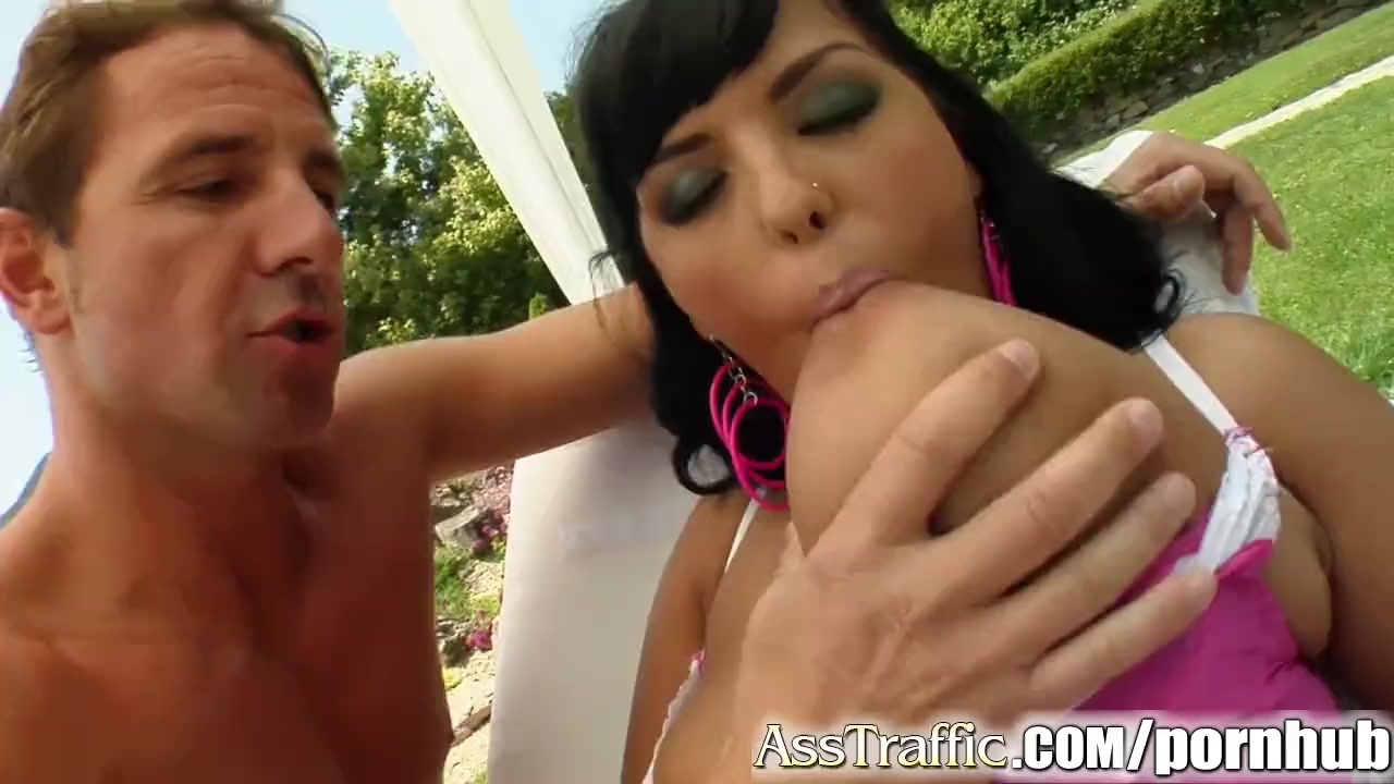 Preview 1 of Ass Traffic Big Titted Jasmine Is Screwed In The Ass And Sperm Shot