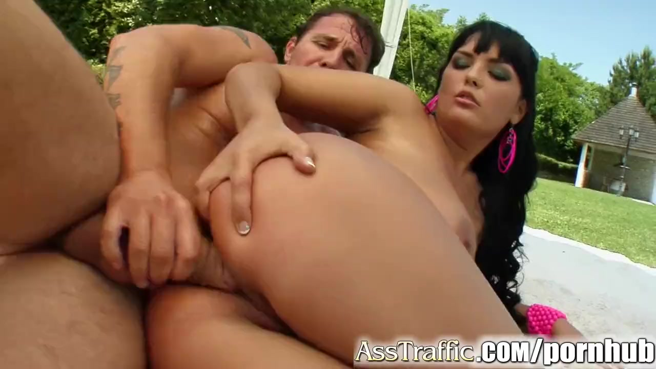 Preview 8 of Ass Traffic Big Titted Jasmine Is Screwed In The Ass And Sperm Shot