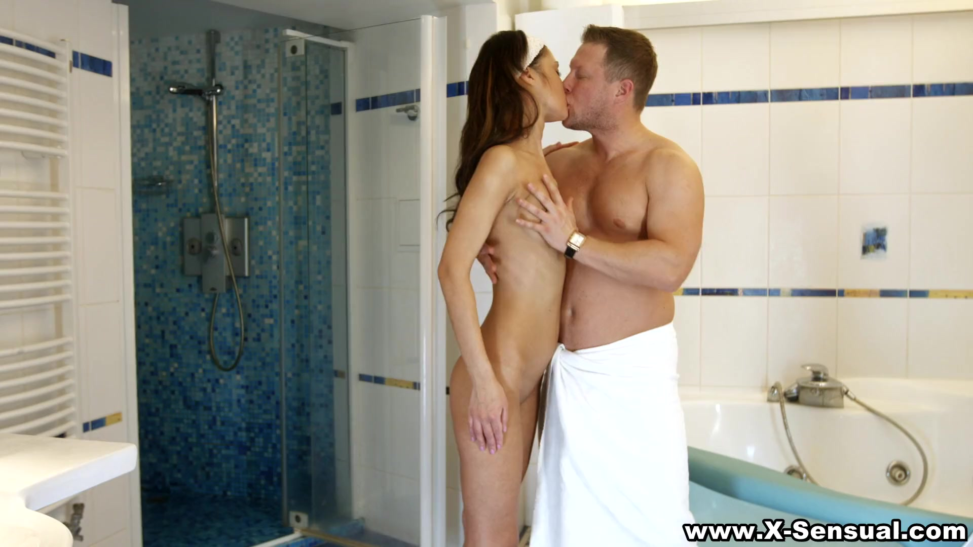 Preview 2 of X-sensual - Anal In A Jacuzzi