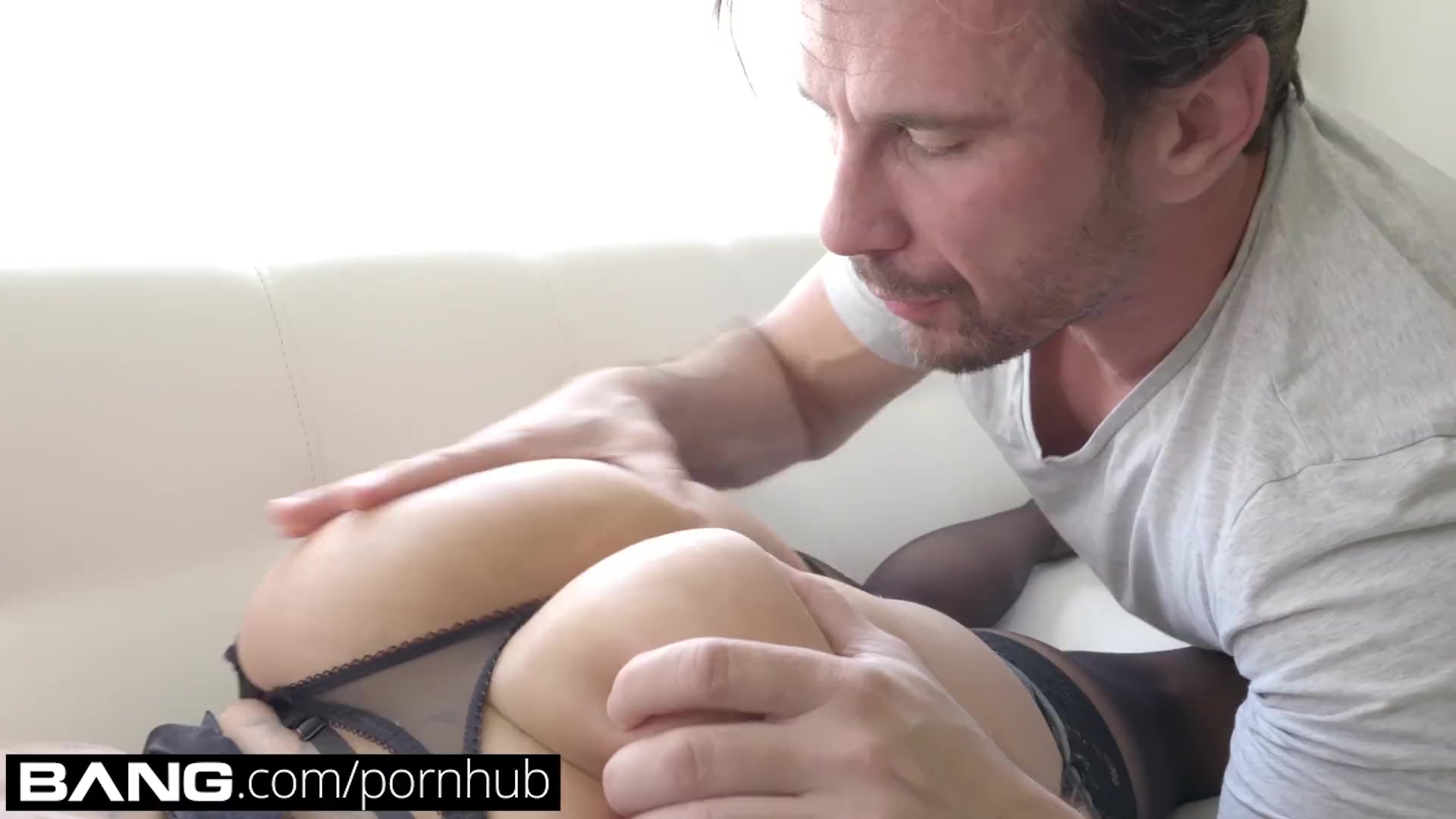 Preview 2 of Bang Gonzo: Tattooed Vixen Nina Kayy Gets Her Asshole Stretched