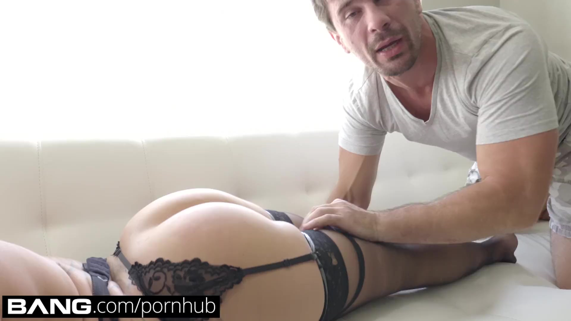 Preview 3 of Bang Gonzo: Tattooed Vixen Nina Kayy Gets Her Asshole Stretched