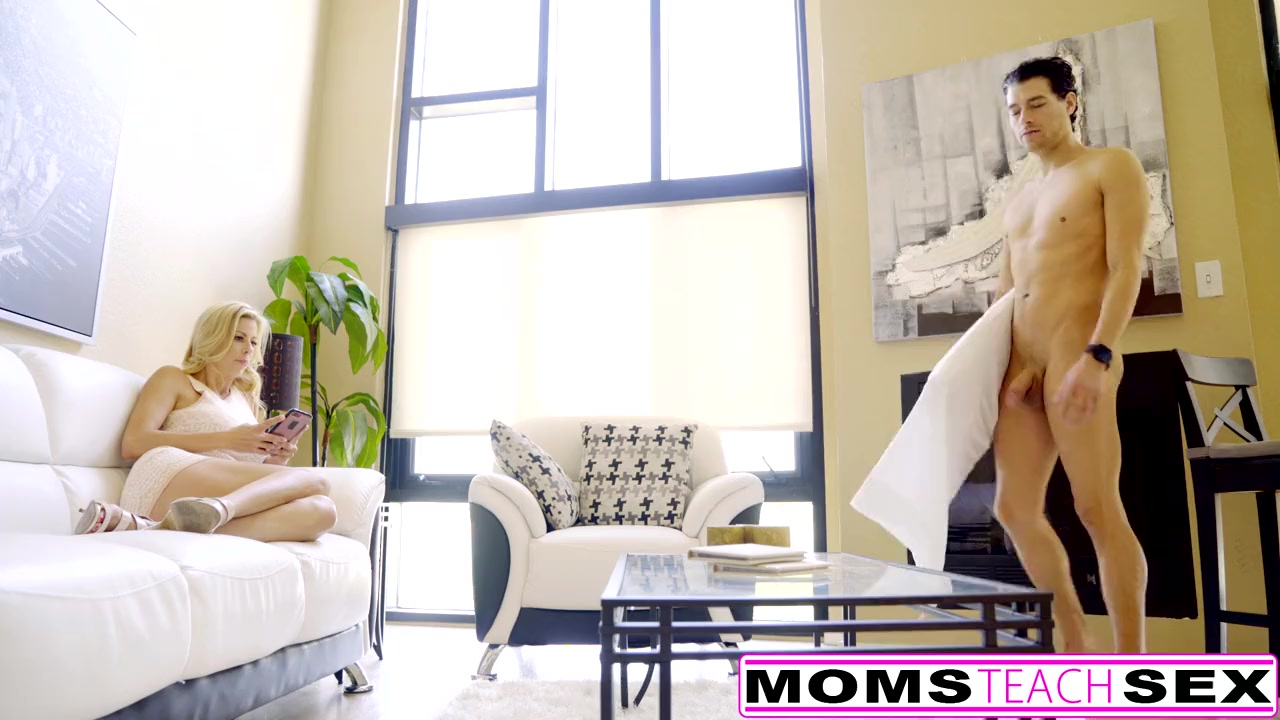 Preview 1 of Squirting Milf Gets Creampie From Sleepwalking Step Son