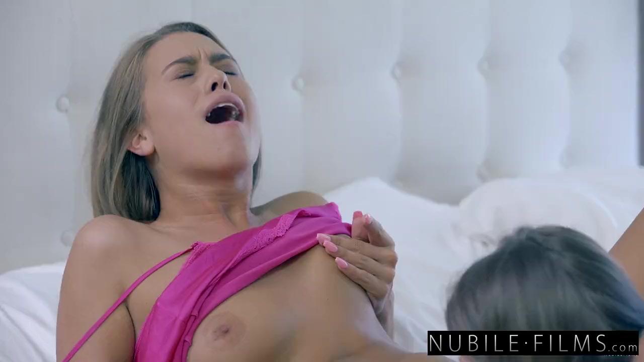 Preview 8 of Nubilefilms - Hot Bffs Scissor Fuck At Sleepover
