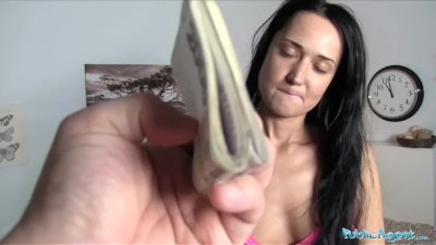 Public Agent Russian Gets Fucked By a Big Cock in her Bedroom