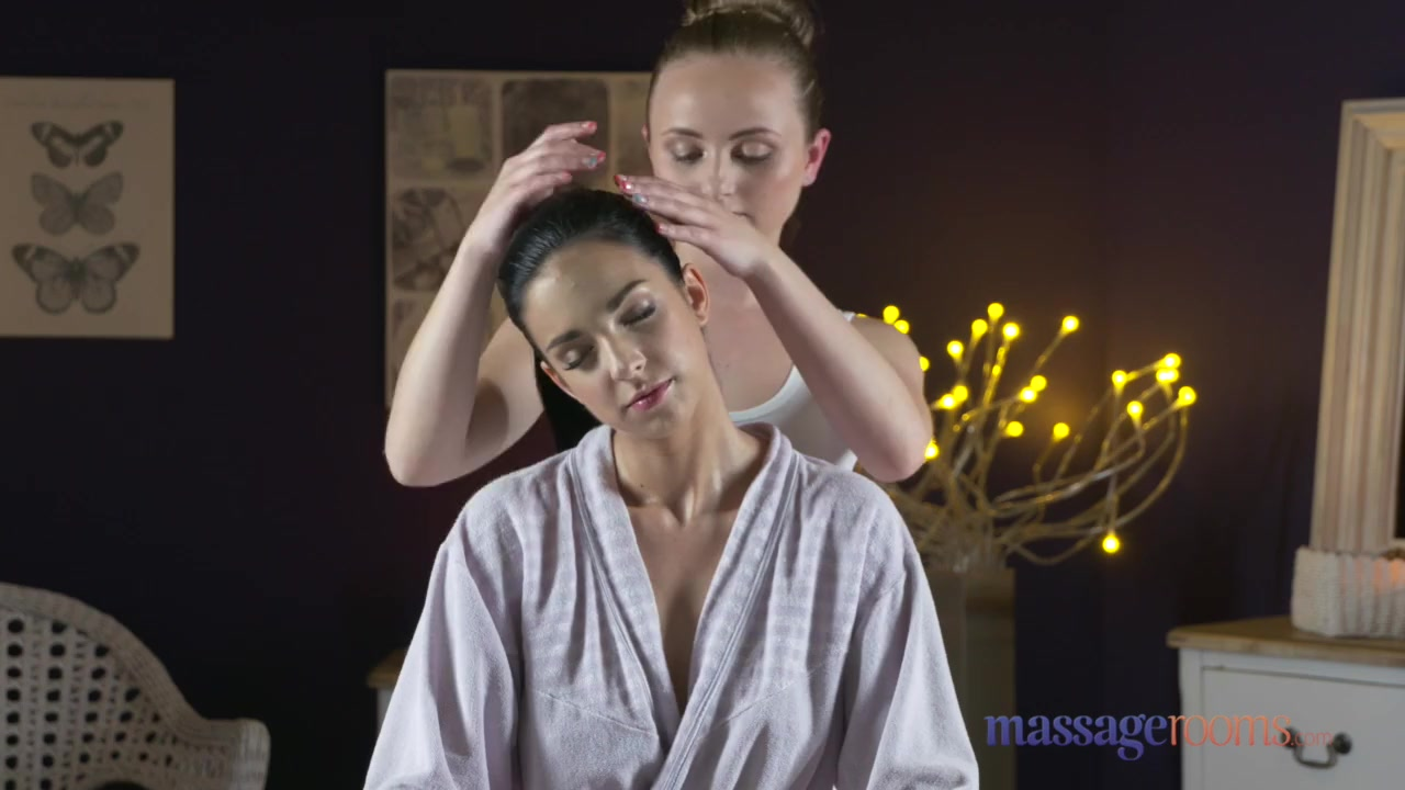 Preview 1 of Massage Rooms Natural Tits Hot Lesbians Enjoy Face Sitting And Orgasms