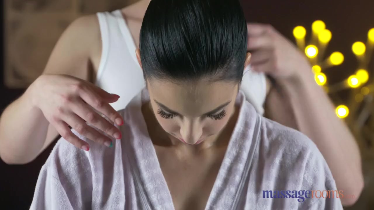 Preview 2 of Massage Rooms Natural Tits Hot Lesbians Enjoy Face Sitting And Orgasms