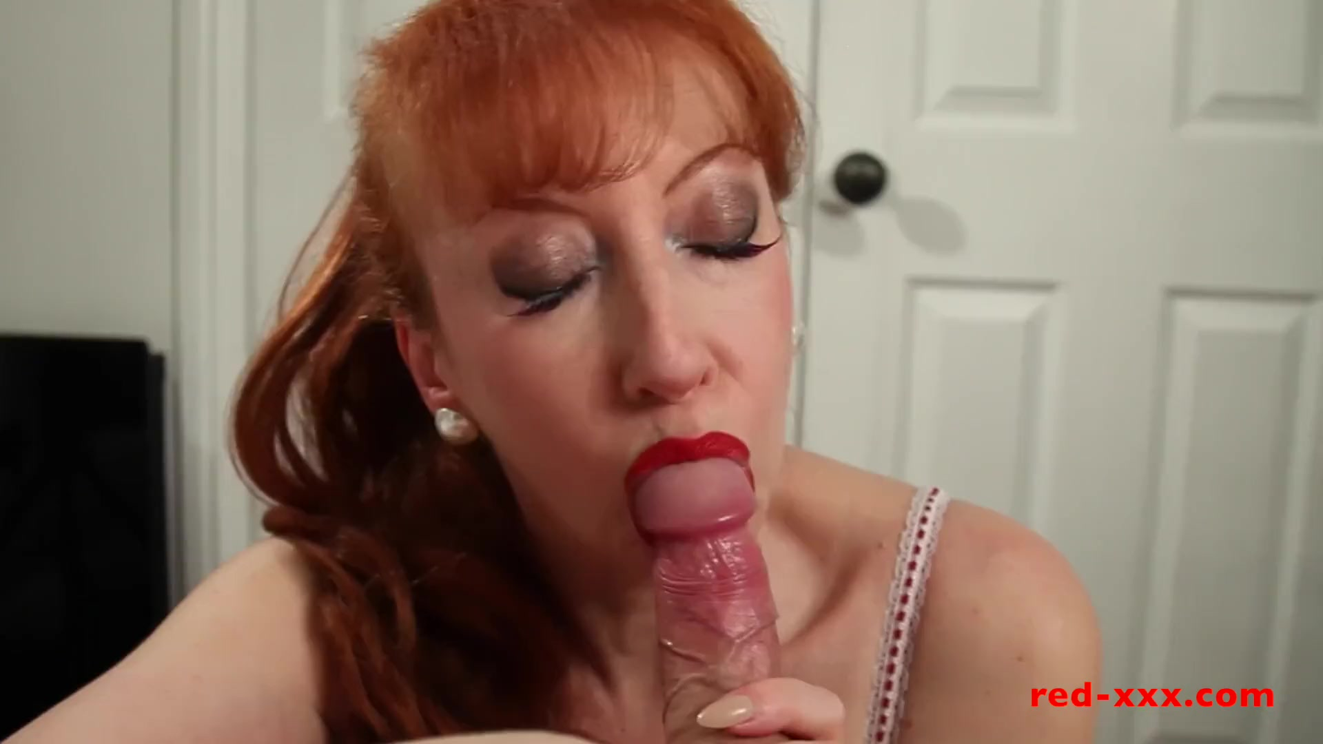 Preview 3 of Milf Red Sucked And Fucked Her Way To Orgasm After Orgasm