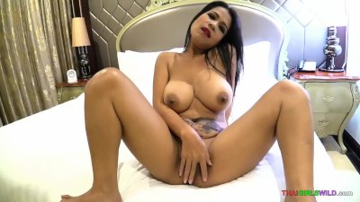 Big titty Asian hooker takes her customer's cock nice and deep