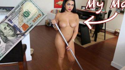 BANGBROS - All Natural Latina Maid Ada Sanchez Gets Fucked By J-Mac