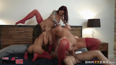 Brazzers Presents 1800 Phone Sex: Line 8, The party