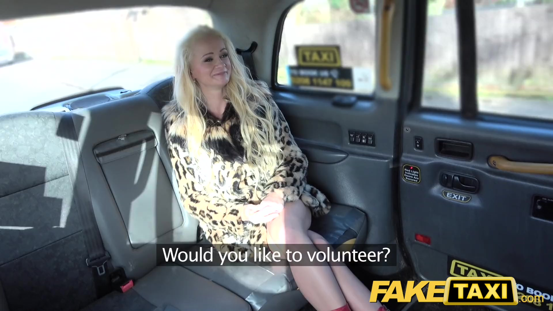 Preview 4 of Fake Taxi Blonde Sexy Bombshell Does Backseat Anal Sex