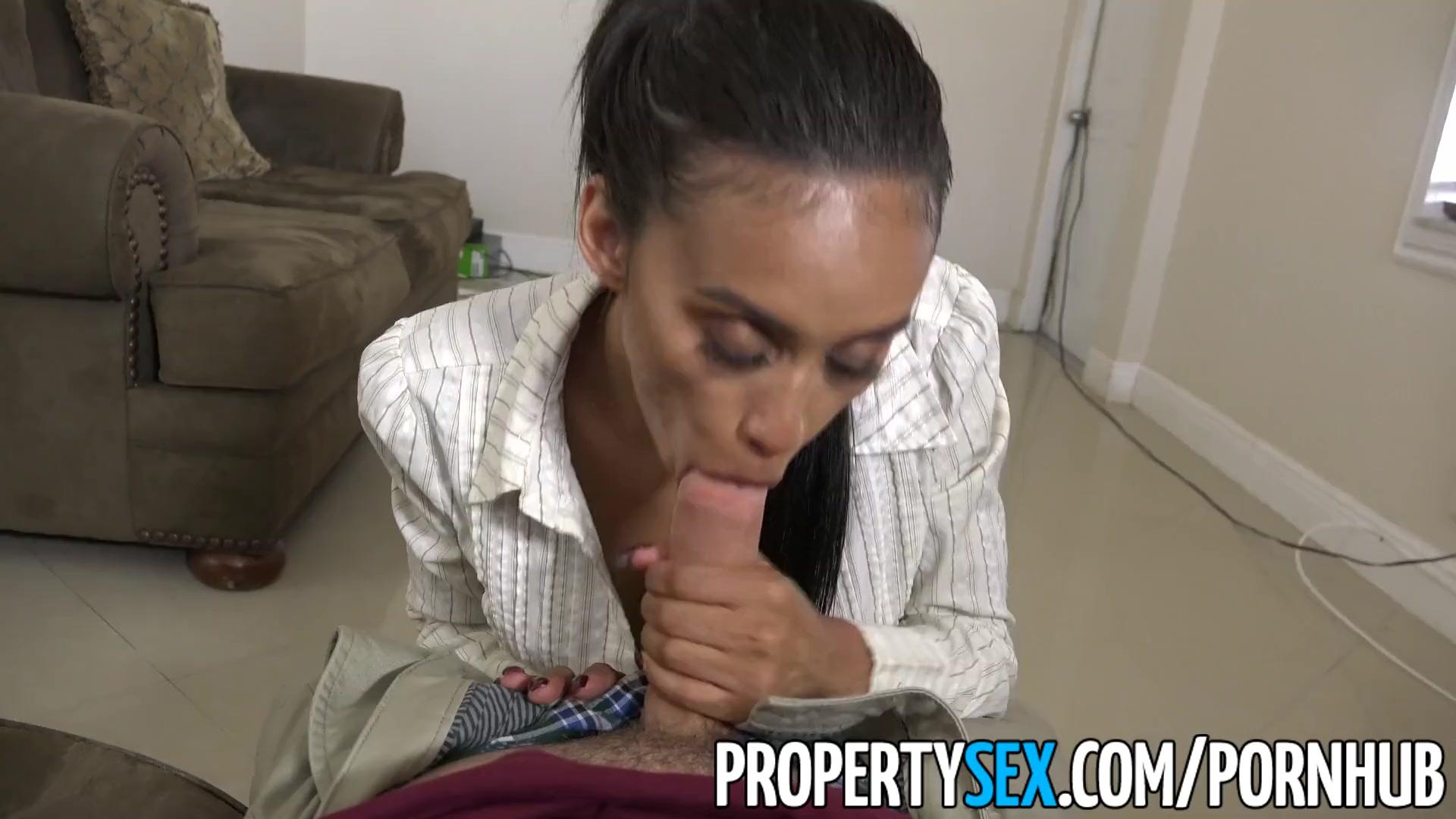 Preview 7 of Propertysex - Dad Fucks Hot Ass Latina Real Estate Agent