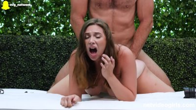 Thick Amateur Treated To Multiple Orgasm During Audition For Our Calendar