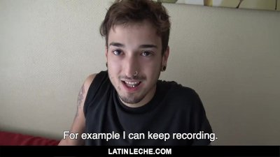LatinLeche - Latino Skater Punk Railed Out By Pervy Cameraman