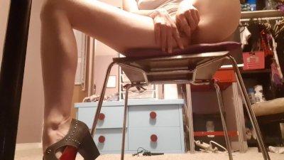 HIDDEN CAMERA! Caught watching porn & masturbating at work!