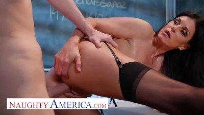 naughty america India Summer fucks her student