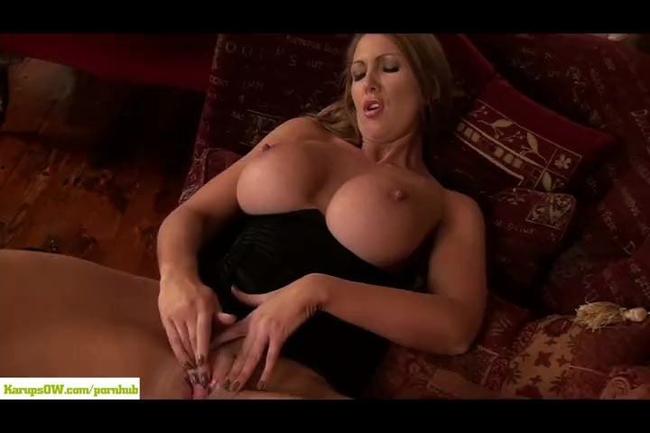 Leigh Darby Licks Big Mature Tits