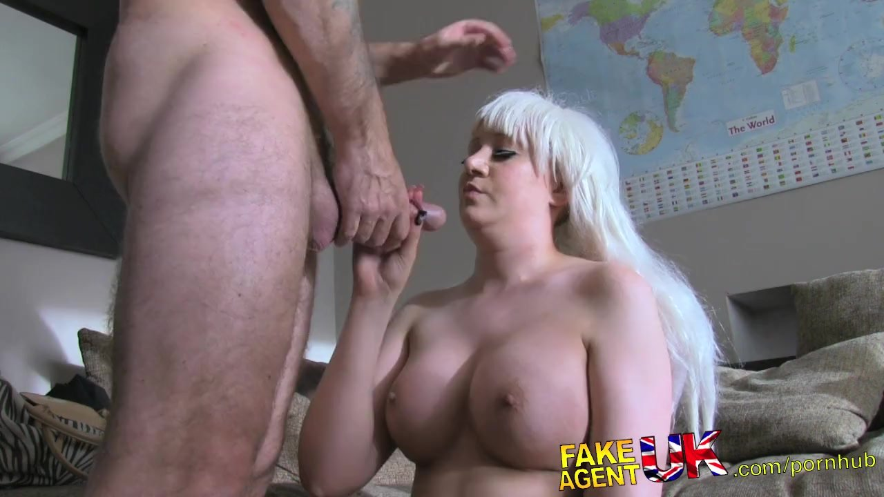 FakeAgentUK Fake casting sees Web cam girl tryout hardcore sex session