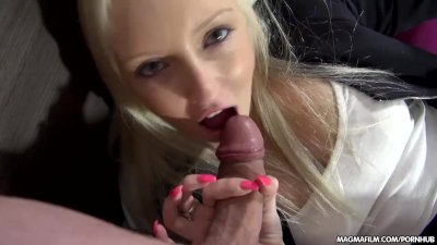MAGMA FILM German Blonde Babe enjoys it hard