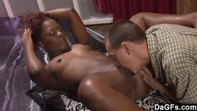 Black stripper fucked by her client