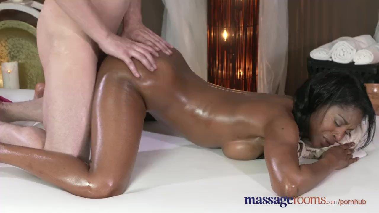 Nephew Gives Aunt Massage