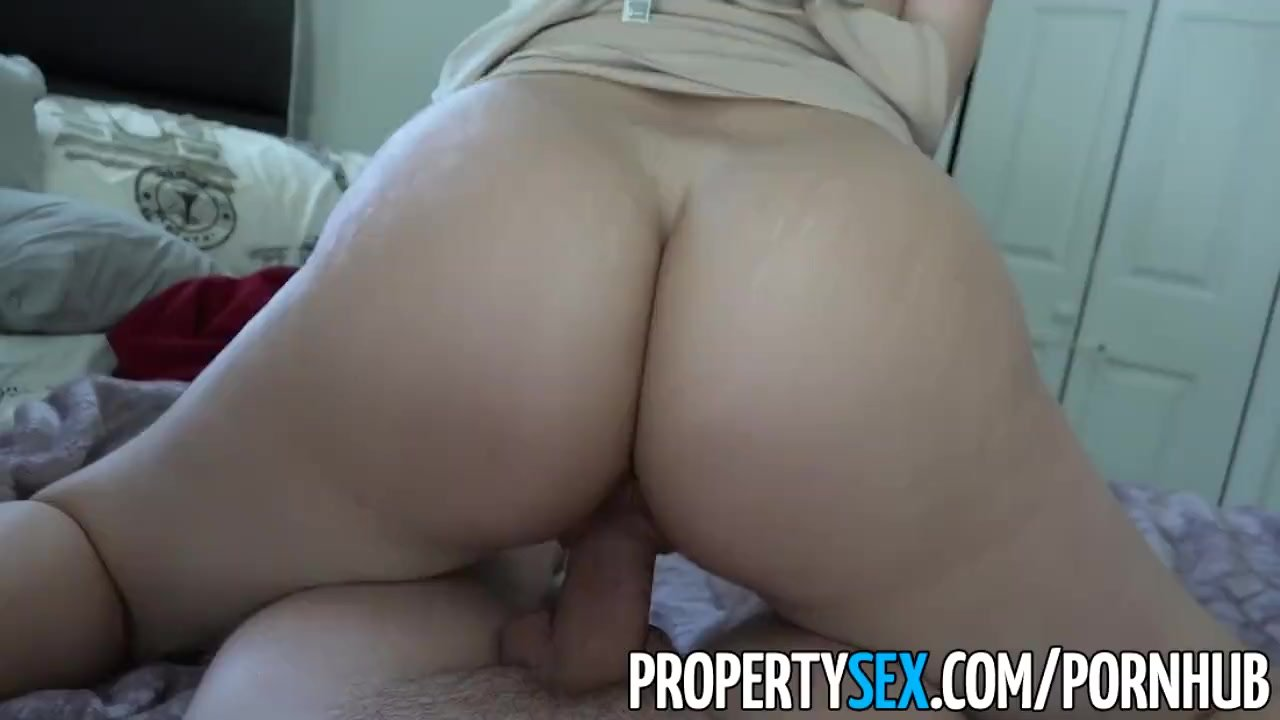 PropertySex - Big ass Latina realtor tricked by perv into making sex video