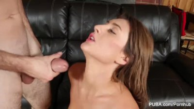 Sexy Addison Ryder wakes him up to fuck