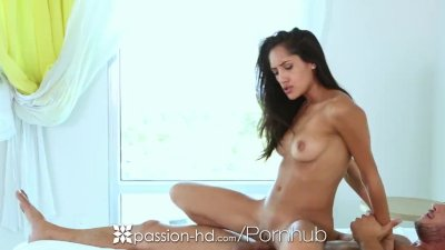 Passion-HD - Sexy Chloe Amour tries on some new outfits