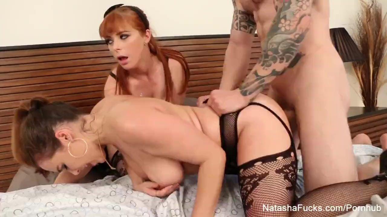 Natasha Nice & Penny Pax take a big dick
