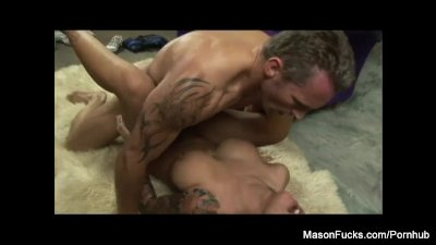 Mason's sexy photoshoot gets dirty
