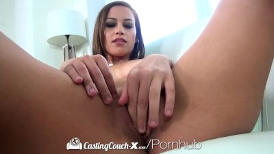 CastingCouch-X - Casting Agent picks up stripper Karter Foxx for audition