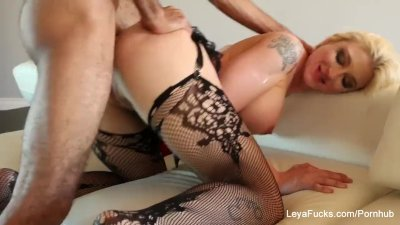Leya Falcon wants her ass fucked harder