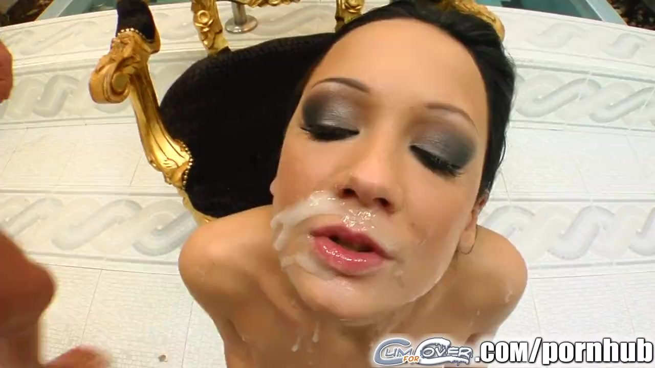 Cum For Cover Regina takes all four cum loads right on her face