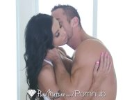 Puremature - Hot vixen Jewel Jade takes it to her nice behind