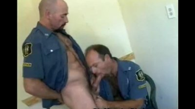 Cock Lovin' Bear Cops