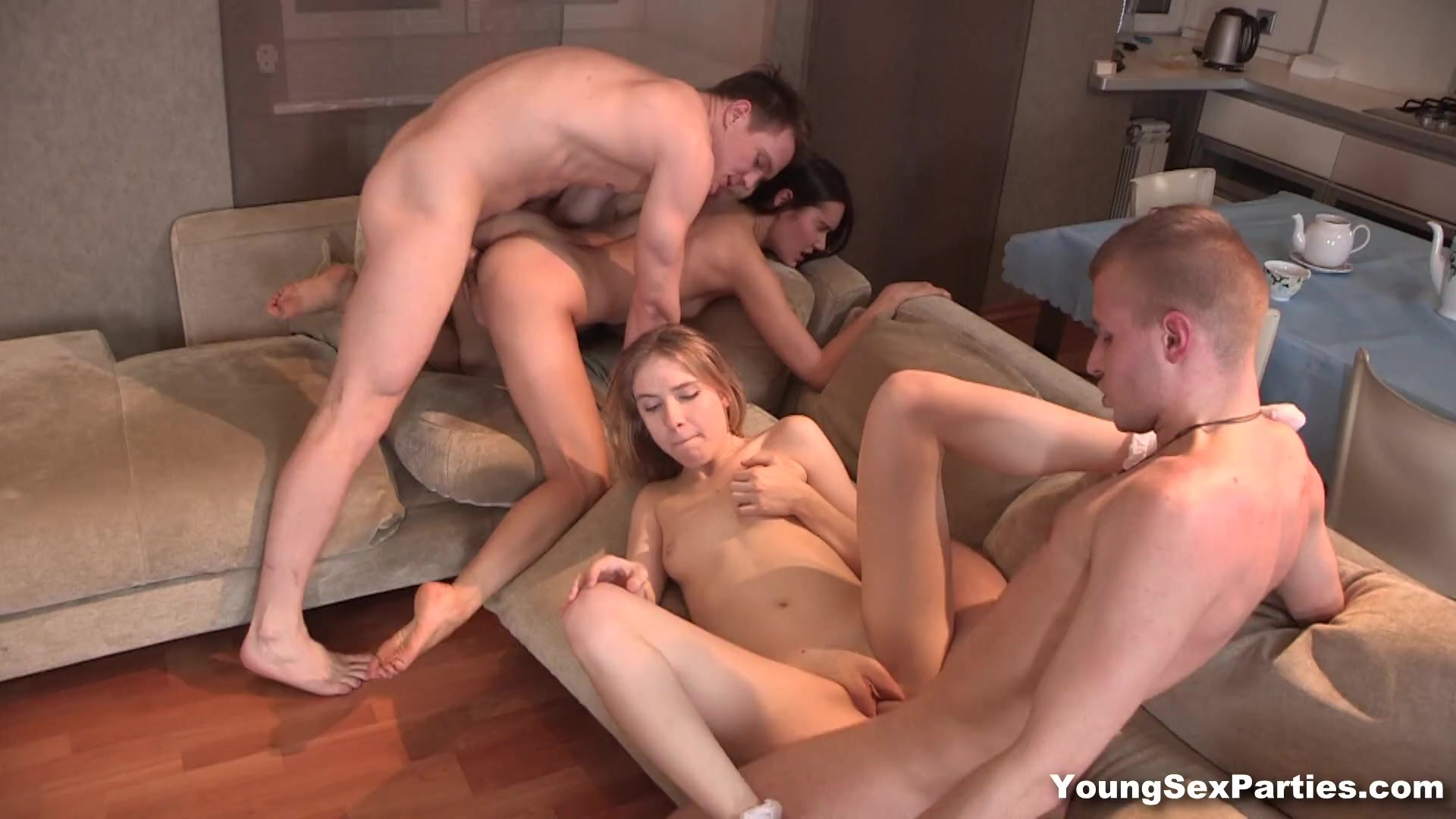 Cunnilingus/swinger fuck party young