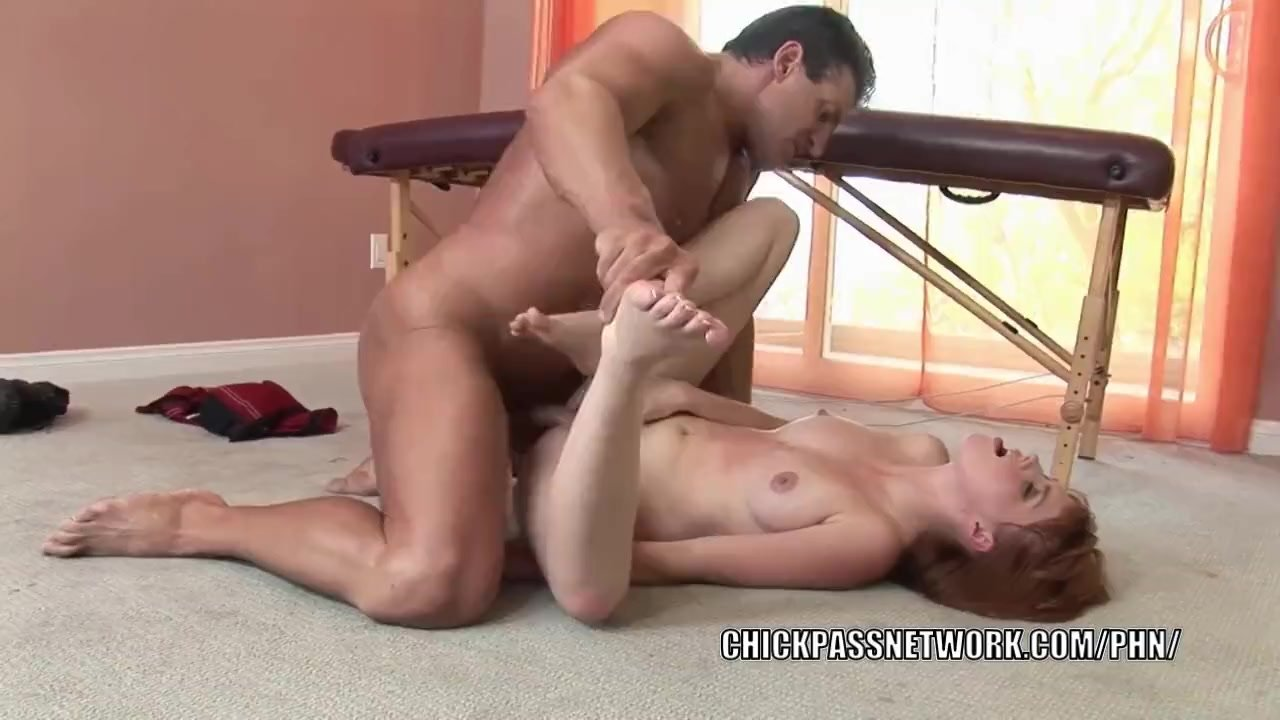 Tiny slut Marie McCray gets her hot little pussy pounded