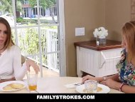 FamilyStrokes - Teaching My Step Sis To Suck & Fuck