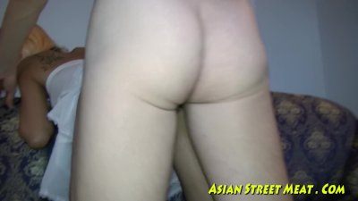 Asian redhead fingered and pussyfucked 2