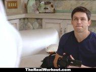 TeamSkeet - teen Yoga Trainer Seduces Nerd