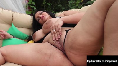 Big Tit Cuban Slut Angelina Castro Squirts And Blows