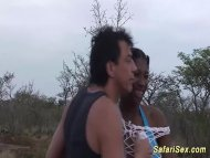 extreme african safari sex orgy