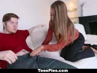 teenPies - teen babe Jill Kassidy gets her tight snatch creampied