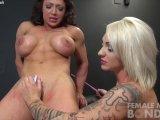 dani andrews and brandimae lesbian bondage3gp Porn Videos