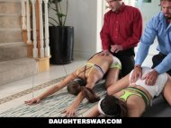 The Swinger Experience Presents Helping our Daughters To Stretch Out & Fuck