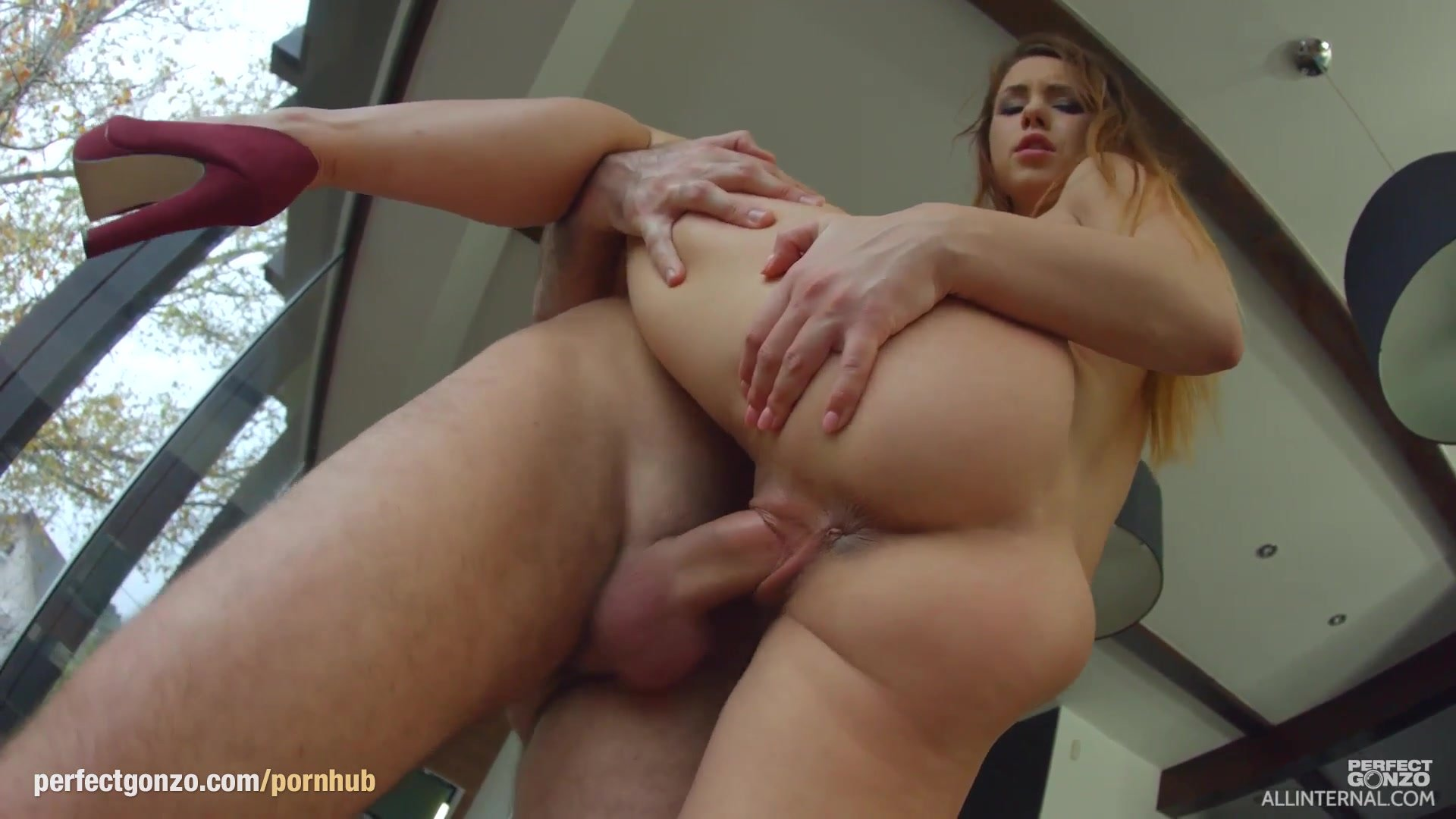 Taylor Sands gets a full load of hot jizz at All internal as a creampie