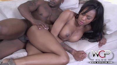 Stunning Ebony Nadia Jay