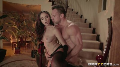 Ariana Marie cheats on her boyfriend - Brazzers
