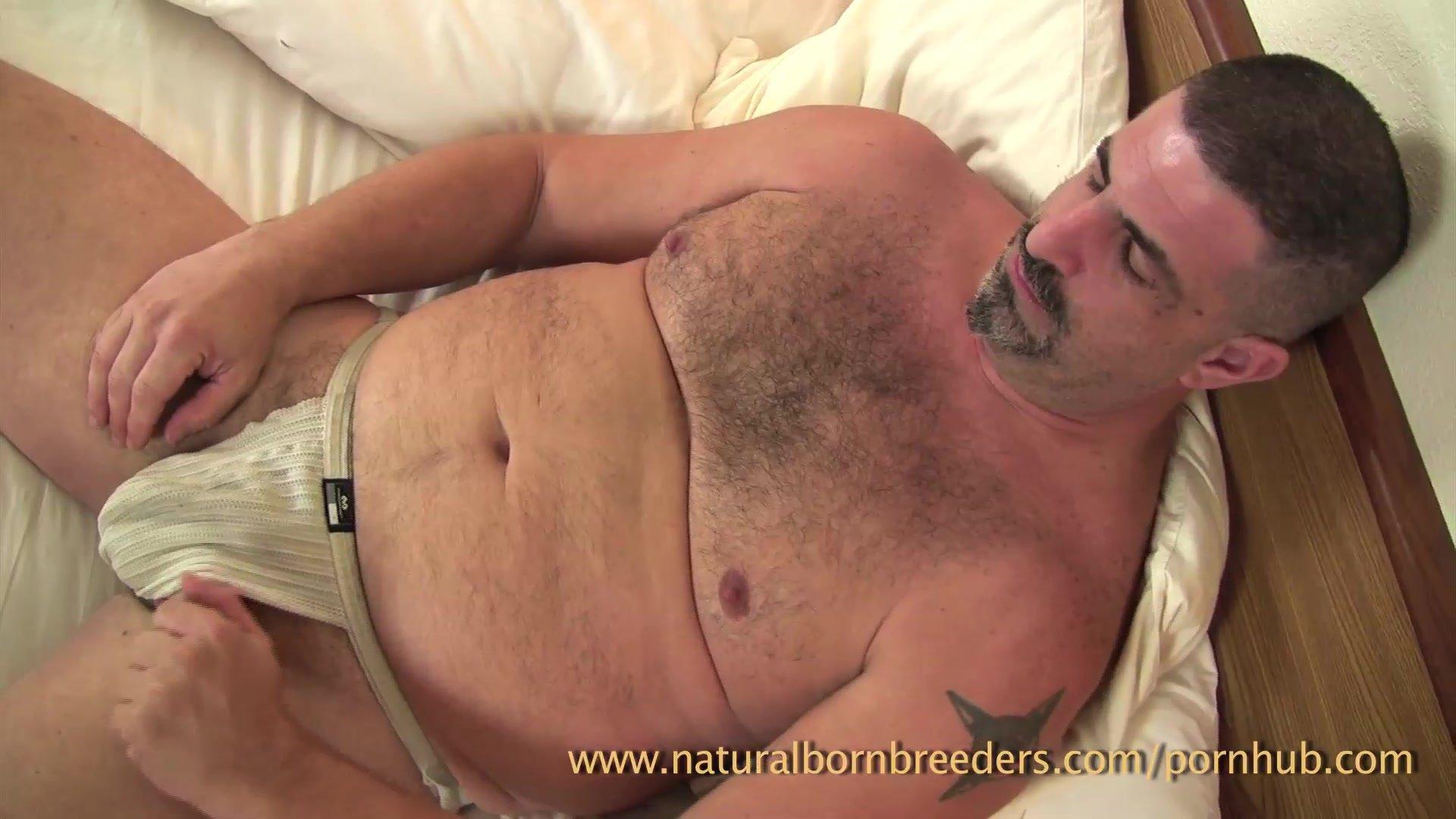 Naturalbornbreeders/jack off/his jon woof strap his