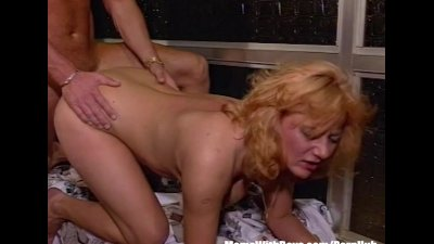 Blonde Mature Fucked In The Closet